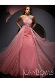 A Line Sweetheart Floor Length Chiffon Evening Dress Style