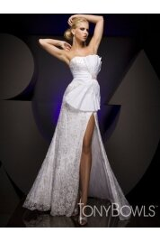 Strapless Floor Length Evening Dress Style